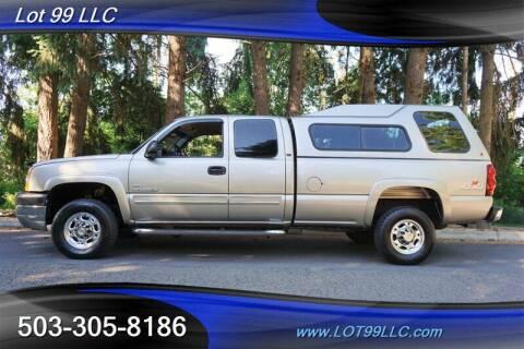 2003 Chevrolet Silverado 2500HD for sale at LOT 99 LLC in Milwaukie OR