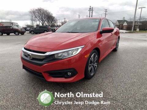 2018 Honda Civic for sale at North Olmsted Chrysler Jeep Dodge Ram in North Olmsted OH