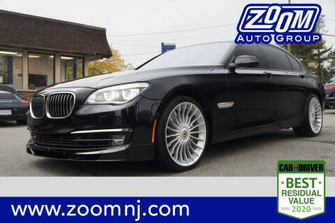 2014 BMW 7 Series for sale at Zoom Auto Group in Parsippany NJ