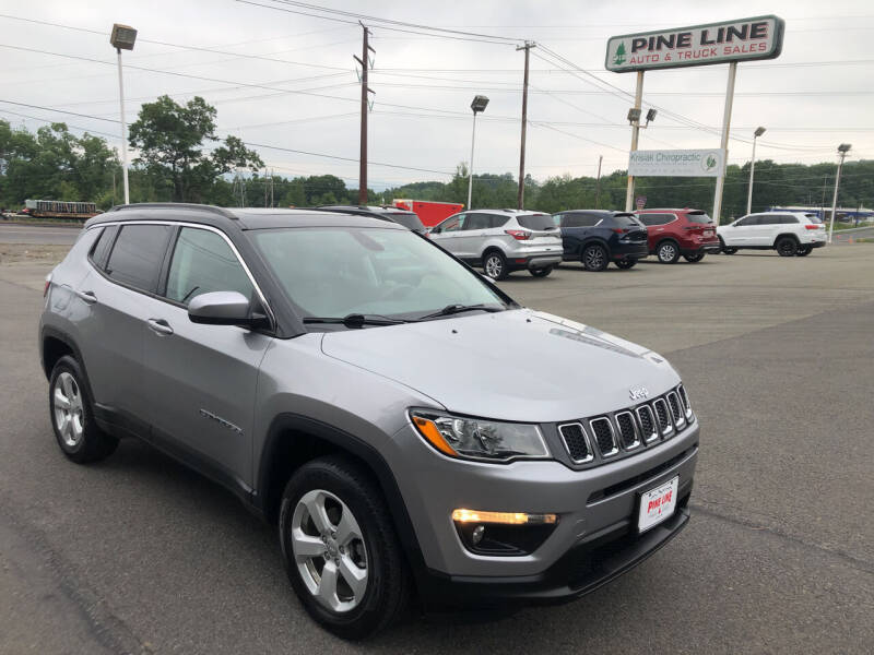 2018 Jeep Compass for sale at Pine Line Auto in Olyphant PA