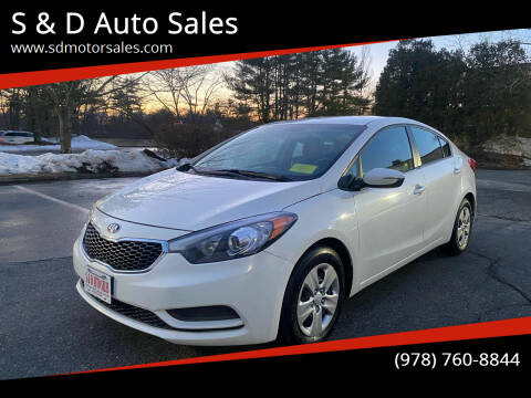 2015 Kia Forte for sale at S & D Auto Sales in Maynard MA