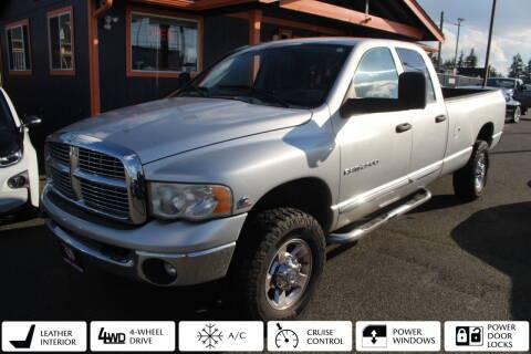 2005 Dodge Ram Pickup 2500 for sale at Sabeti Motors in Tacoma WA
