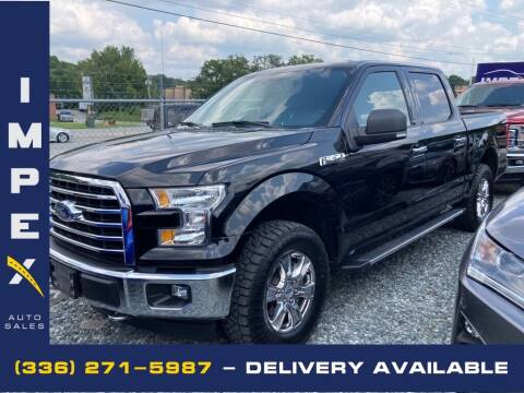 2017 Ford F-150 for sale at Impex Auto Sales in Greensboro NC