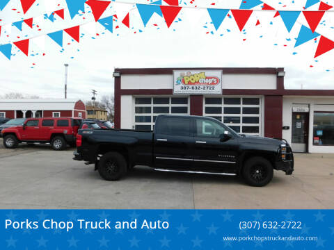2014 Chevrolet Silverado 1500 for sale at Pork Chops Truck and Auto in Cheyenne WY