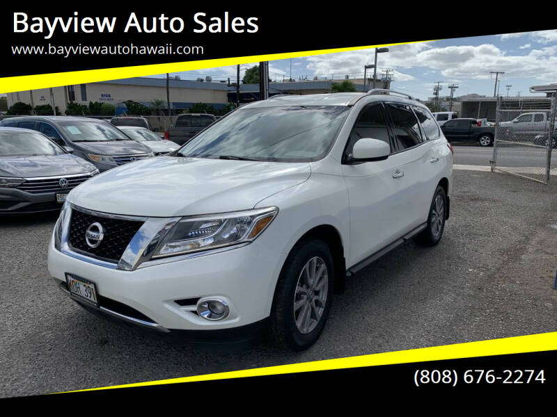 2016 Nissan Pathfinder for sale at Bayview Auto Sales in Waipahu HI