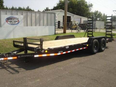 2021 83 X 20 IRON BULL HD HAULER for sale at Midwest Trailer Sales & Service in Agra KS