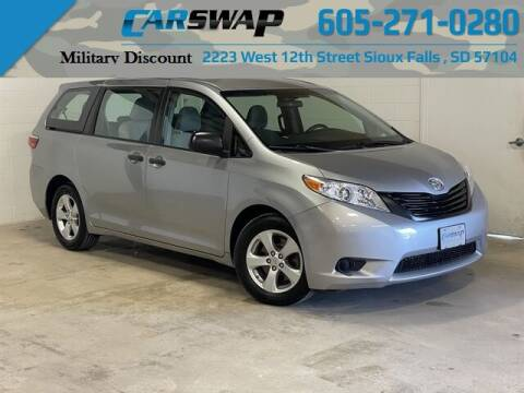 2017 Toyota Sienna for sale at CarSwap in Sioux Falls SD