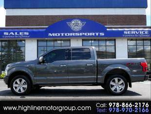 2020 Ford F-150 for sale at Highline Group Motorsports in Lowell MA