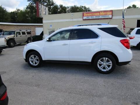 2012 Chevrolet Equinox for sale at DERIK HARE in Milton FL