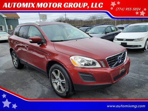 2011 Volvo XC60 for sale at AUTOMIX MOTOR GROUP, LLC in Swansea MA