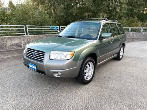2006 Subaru Forester for sale at Zipstar Auto Sales in Lynnwood WA