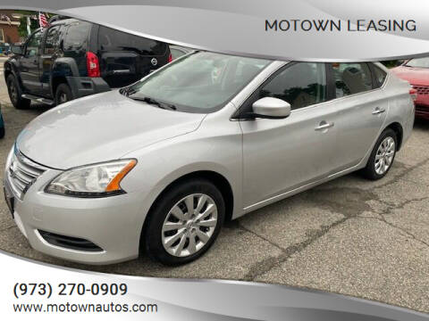 2015 Nissan Sentra for sale at Motown Leasing in Morristown NJ