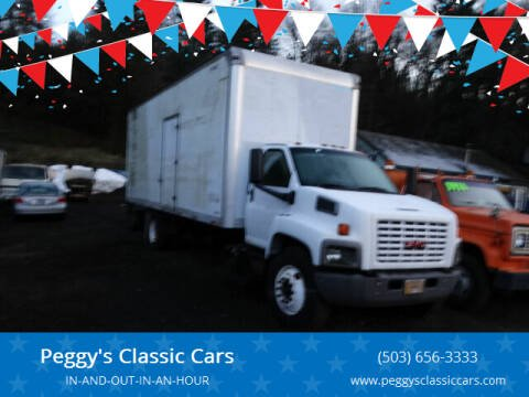 2003 GMC 26ft box truck for sale at Peggy's Classic Cars in Oregon City OR