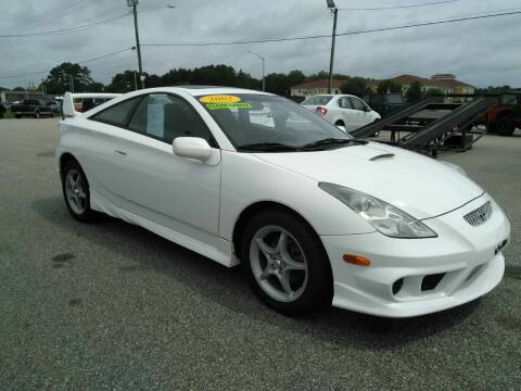 2002 Toyota Celica for sale at Kelly & Kelly Supermarket of Cars in Fayetteville NC