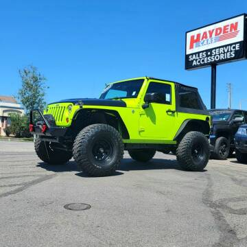 2012 Jeep Wrangler for sale at Hayden Cars in Coeur D Alene ID