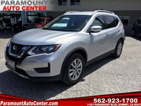 2018 Nissan Rogue for sale at PARAMOUNT AUTO CENTER in Downey CA