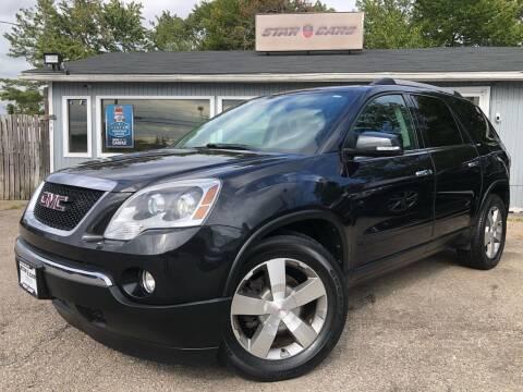 2011 GMC Acadia for sale at Star Cars LLC in Glen Burnie MD