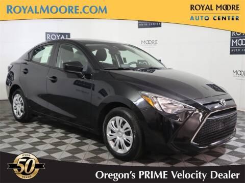 2019 Toyota Yaris for sale at Royal Moore Custom Finance in Hillsboro OR