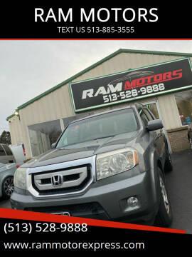 2009 Honda Pilot for sale at RAM MOTORS in Cincinnati OH