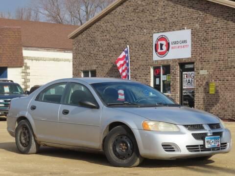 2004 Dodge Stratus for sale at Big Man Motors in Farmington MN