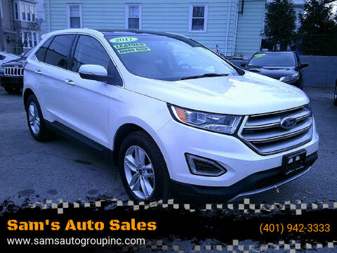 2017 Ford Edge for sale at Sam's Auto Sales in Cranston RI