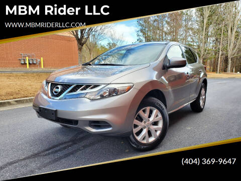 2012 Nissan Murano for sale at MBM Rider LLC in Alpharetta GA