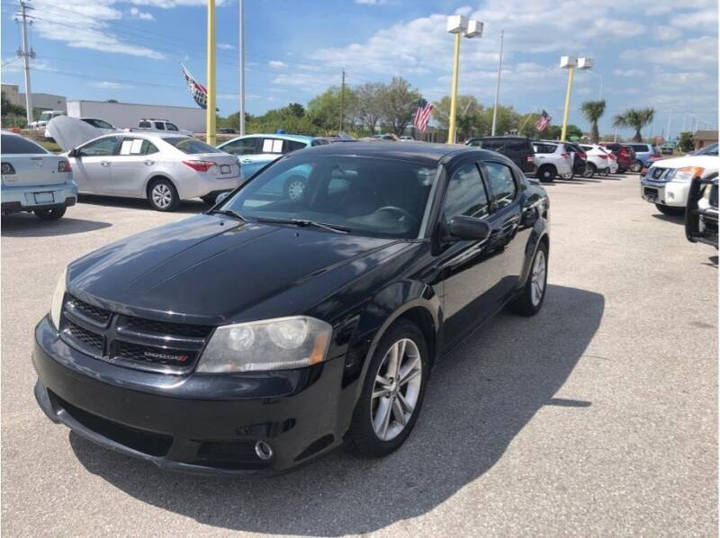 2013 Dodge Avenger for sale at My Value Car Sales in Venice FL