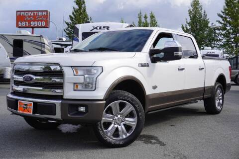 2016 Ford F-150 for sale at Frontier Auto & RV Sales in Anchorage AK