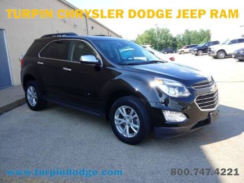 2017 Chevrolet Equinox for sale at Turpin Dodge Chrysler Jeep Ram in Dubuque IA
