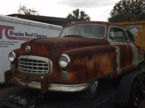 1949 Nash 600 for sale at Classic Car Deals in Cadillac MI