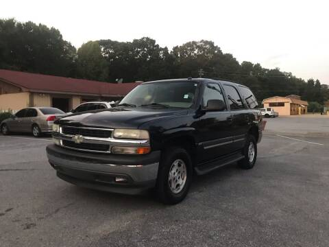 2005 Chevrolet Tahoe for sale at CAR STOP INC in Duluth GA