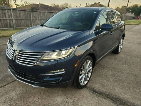 2017 Lincoln MKC for sale at MOTORSPORTS IMPORTS in Houston TX