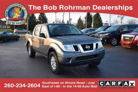 2019 Nissan Frontier for sale at BOB ROHRMAN FORT WAYNE TOYOTA in Fort Wayne IN