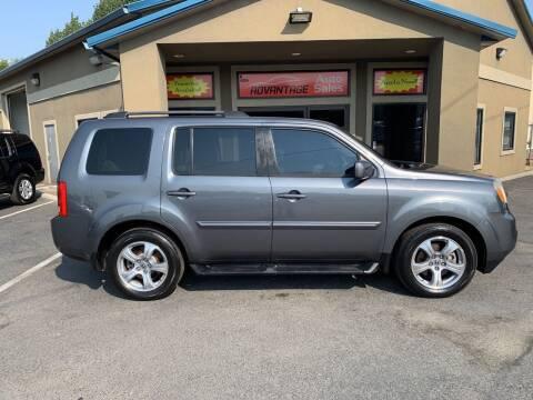2012 Honda Pilot for sale at Advantage Auto Sales in Garden City ID