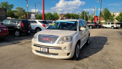 2011 GMC Acadia for sale at Bibian Brothers Auto Sales & Service in Joliet IL