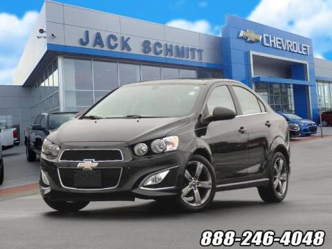 2014 Chevrolet Sonic for sale at Jack Schmitt Chevrolet Wood River in Wood River IL