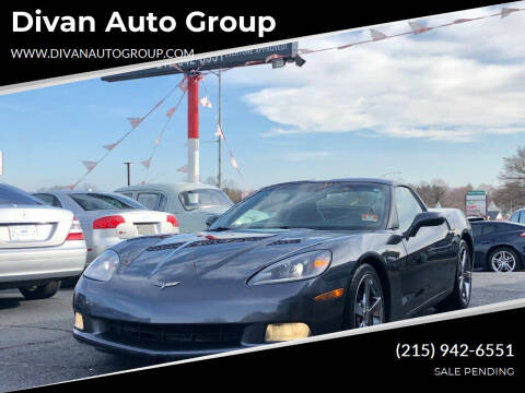 2010 Chevrolet Corvette for sale at Divan Auto Group in Feasterville PA