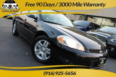 2006 Chevrolet Impala for sale at West Coast Auto Sales Center in Sacramento CA