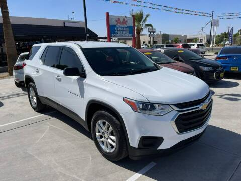 2018 Chevrolet Traverse for sale at A AND A AUTO SALES in Gadsden AZ