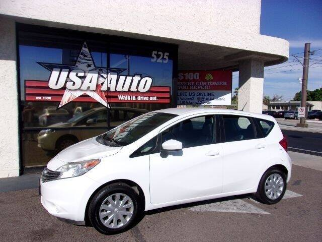 2016 Nissan Versa Note for sale at USA Auto Inc in Mesa AZ