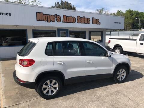 2010 Volkswagen Tiguan for sale at Moye's Auto Sales Inc. in Leesburg FL