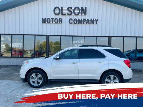 2014 Chevrolet Equinox for sale at Olson Motor Company in Morris MN