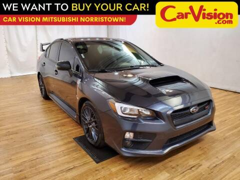 2016 Subaru WRX for sale at Car Vision Mitsubishi Norristown in Trooper PA