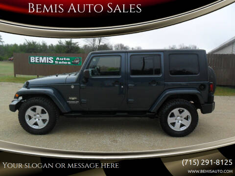 2008 Jeep Wrangler Unlimited for sale at Bemis Auto Sales in Crivitz WI
