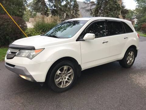 2007 Acura MDX for sale at Via Roma Auto Sales in Columbus OH