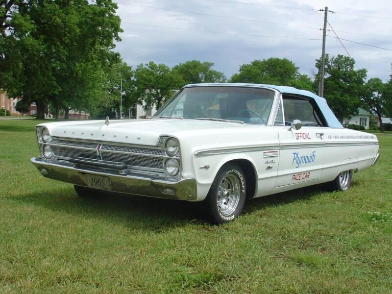 1965 Plymouth Sport Fury for sale in Seneca, KS