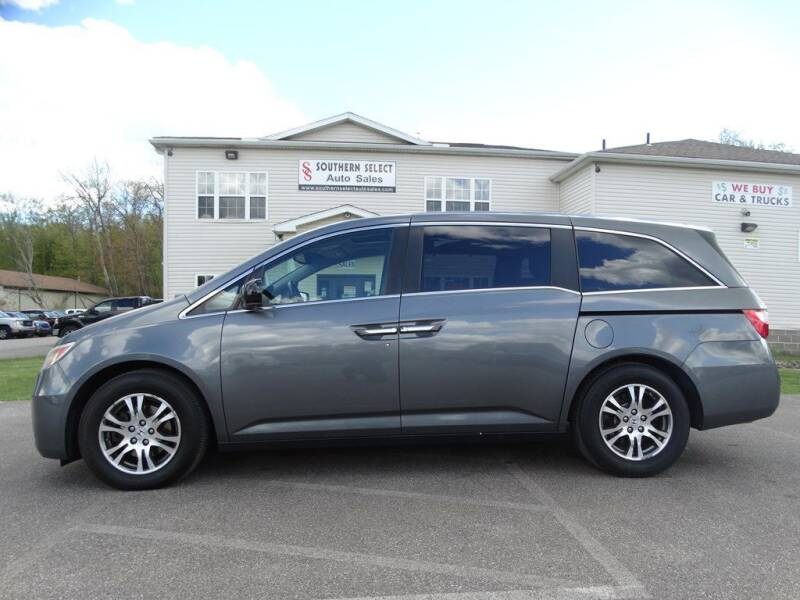 2012 Honda Odyssey for sale at SOUTHERN SELECT AUTO SALES in Medina OH