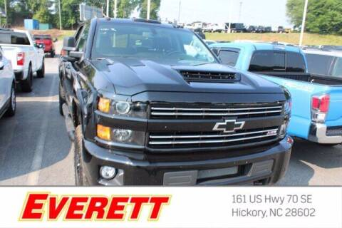 2018 Chevrolet Silverado 2500HD for sale at Everett Chevrolet Buick GMC in Hickory NC