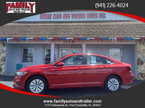 2020 Volkswagen Jetta for sale at Family Auto and Trailer Sales LLC in Port Charlotte FL