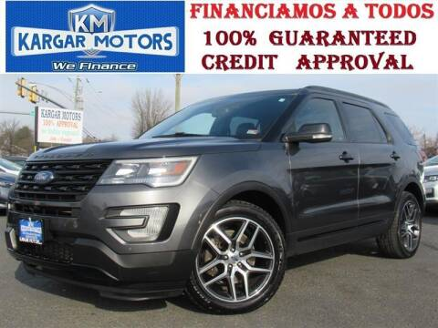 2017 Ford Explorer for sale at Kargar Motors of Manassas in Manassas VA